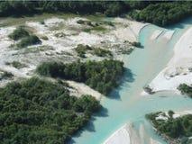 Het zand van de rivier Royalty-vrije Stock Afbeelding