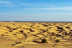 Het zand van de Sahara Stock Afbeelding
