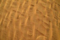 Het zand van de woestijn Stock Afbeelding