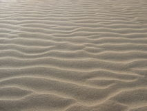 Het zand van de woestijn stock foto