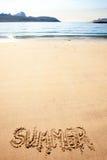 Het Zand van de zomer Stock Afbeeldingen
