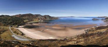 Het zand van Gruinard Stock Afbeelding