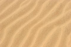 Het Zand van het strand royalty-vrije stock afbeelding