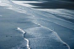 Het zand van Saunton Stock Fotografie