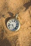 Het zand van tijd. Stock Fotografie