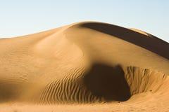 Het zand van Wahiba, Oman Royalty-vrije Stock Foto's