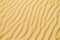 Het zandachtergrond van de woestijn royalty-vrije stock foto's