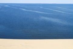 Het zandachtergrond van de woestijn royalty-vrije stock afbeelding