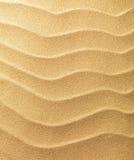 Het zandachtergrond van het strand Royalty-vrije Stock Foto