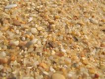 Het zandclose-up van het strand Royalty-vrije Stock Foto