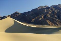 Het zandduinen van de woestijn Royalty-vrije Stock Afbeelding