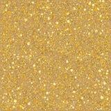 Het zandgoud fonkelt textuur Royalty-vrije Stock Afbeeldingen