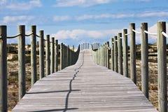 Het zebrapad van het strand Royalty-vrije Stock Afbeelding