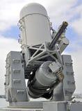 Het zee 20mm Systeem van Nabije Wapens (CWIS) Stock Afbeeldingen