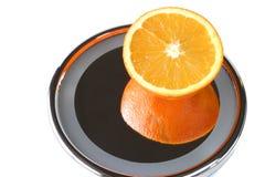 Het zee oranje nadenken royalty-vrije stock afbeelding
