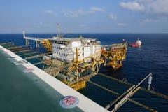 Het zeebooreiland in de golf van Thailand Royalty-vrije Stock Afbeelding