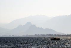 Het Zeegezicht van Antalya (Turkije) Stock Afbeeldingen