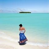 Het zeegezicht van de Maldiven Royalty-vrije Stock Foto