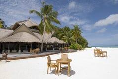 Het zeegezicht van de Maldiven Stock Afbeeldingen