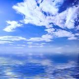 Het zeegezicht van de zomer Stock Foto