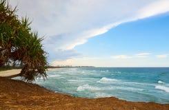 Het Zeegezicht van Fingalhoofden NSW stock foto's