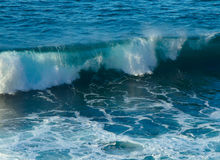 Het zeegezicht van het onweer Stock Fotografie