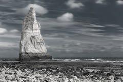 Het zeegezicht van Normandië Royalty-vrije Stock Foto's