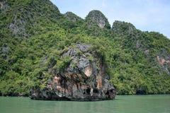Het zeegezicht van Thailand Royalty-vrije Stock Foto's