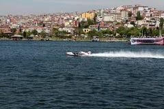 HET ZEEKAMPIOENSCHAP VAN DE WERELD IN ISTANBOEL. Royalty-vrije Stock Foto's