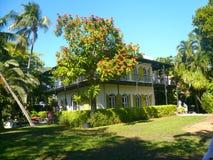 Het zeer belangrijke westen van het Hemingwayhuis Stock Foto's