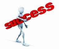 Het is zeer gemakkelijk aan succes Stock Foto's