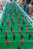 Het zeer Lange Spel van de Lijstvoetbal voor Vijftig Spelers gelijktijdig royalty-vrije stock foto