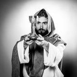 Het zegenen van Jesus-Christus Royalty-vrije Stock Afbeelding
