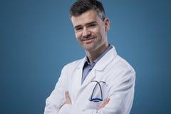 Het zekere arts stellen Stock Afbeeldingen