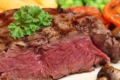 Het zeldzame Lapje vlees van de Filet Royalty-vrije Stock Foto's