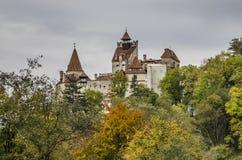 Het Zemelenkasteel, Roemenië stock foto's