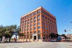 Het Zesde Verdieping Museum in Dallas Van de binnenstad stock fotografie