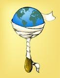 Het zieke Suikergoed van de Aarde Royalty-vrije Stock Foto's