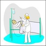 Het ziekenhuis Stock Foto's