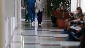 Het ziekenhuis stock footage