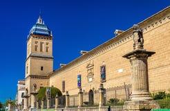 Het Ziekenhuis DE Santiago in Ubeda, Andalucia, Spanje stock foto's