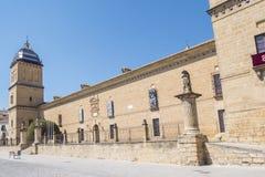Het ziekenhuis DE Santiago, Ubeda, Jaen, Spanje stock fotografie
