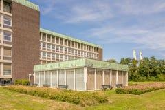 Het ziekenhuis die Reinier de Graaf Hospital in Voorburg bouwen royalty-vrije stock foto's