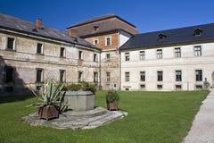 Het ziekenhuis en het kasteel van Kuks Stock Afbeelding