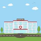 Het ziekenhuis het Concept van de de Bouwgezondheidszorg stock illustratie