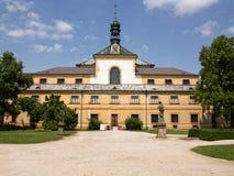 Het ziekenhuis Kuks - uitgebreide barokke complex Stock Foto's