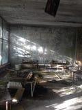 Het ziekenhuis, Pripyat stock foto's