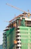 Het ziekenhuis van de bouw Stock Foto's