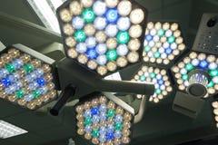 Het Ziekenhuis van de chirurgielamp royalty-vrije stock afbeeldingen