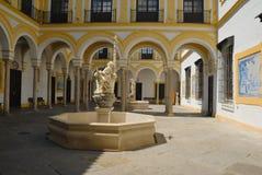 Het Ziekenhuis van de Liefdadigheid van het terras Royalty-vrije Stock Foto's